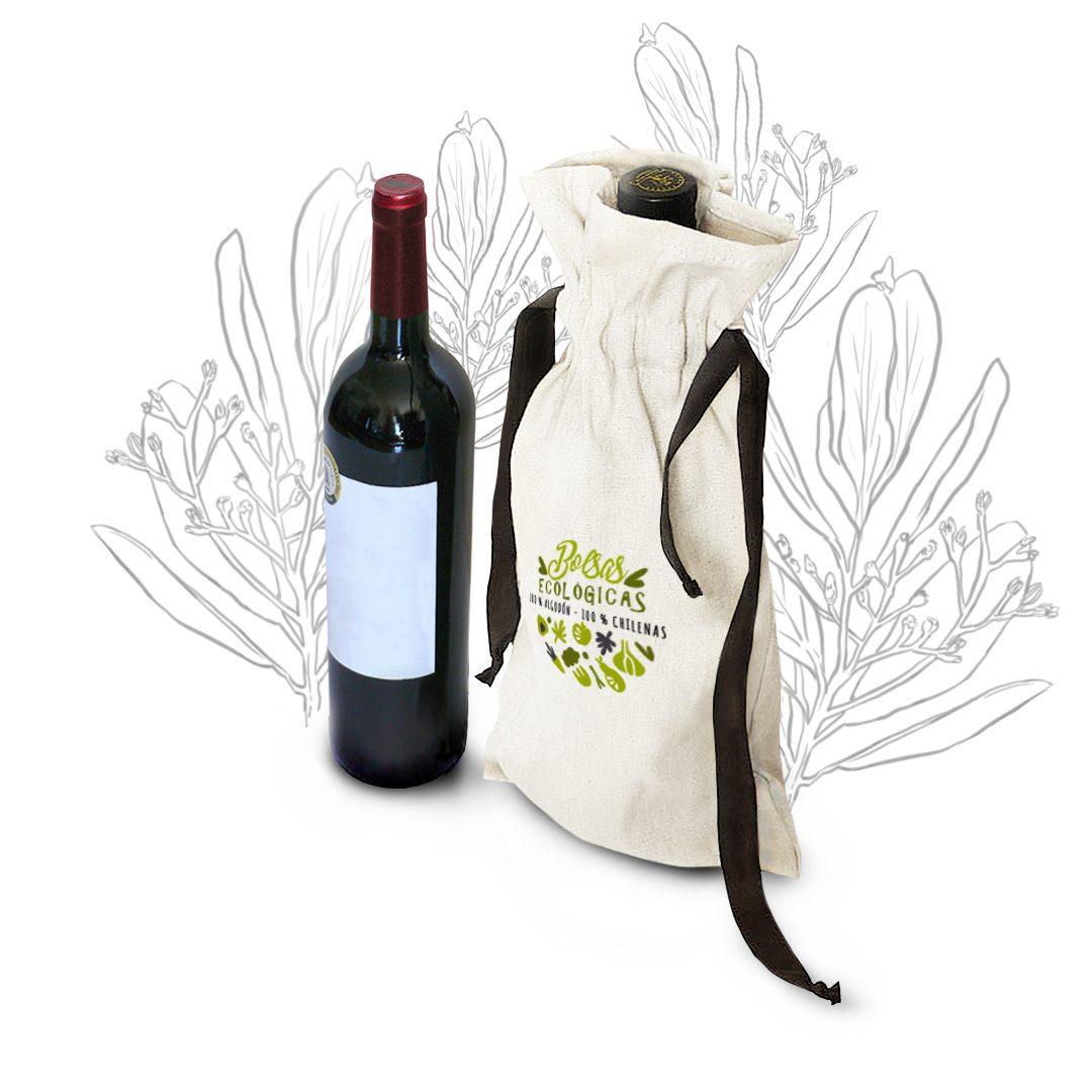 Bolsa para Vino Lingue Con Cinta
